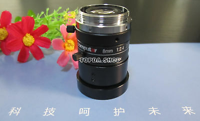 1PC computar M0824-MPW2 8mm 1:2.4 Industrial Camera Lens#SS
