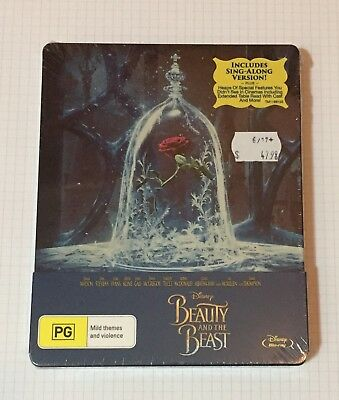 Beauty And The Beast - Limited Edition Steelbook - Blu Ray - Region B - Family
