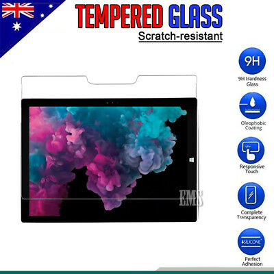 "Tempered Glass LCD Screen Protector Guard For Microsoft Surface Pro 6 12.3"" inch"