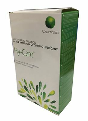 Hy-Care multipurpose contact lens solution 3 x 250ml plus 3 x cases
