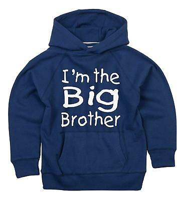 Matching Big Brother Hoodie with I'm the baby brother bodysuit set