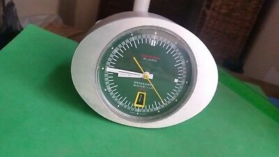 Derby Swissonic Travel Calendar Alarm Clock. Brasilia 271. Perfect working order