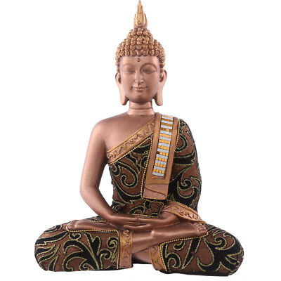 Decorative Fabric Effect Thai Buddha with Sash Large