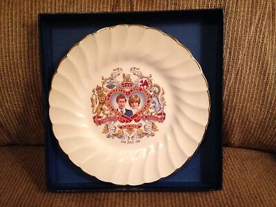 "1981 Prince Charles And Lady Diana Spencer Marriage Commemorative 6-3/4"" Plate."