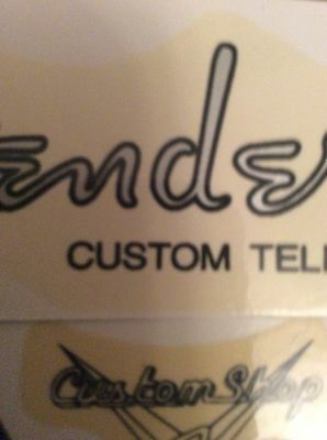 waterslide headstock decals Custom