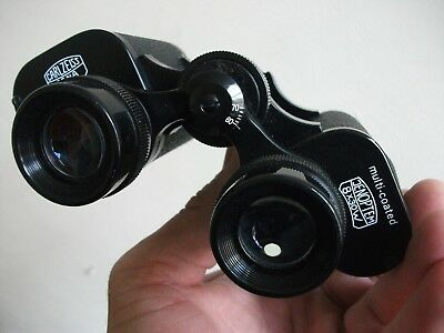 A Pair of Carl Zeiss Jena Jenoptem 8 x 30 Field 8.2 Binoculars With Leather Case