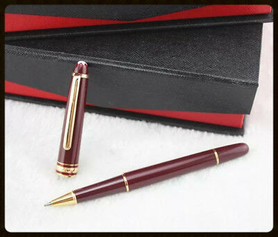 NEW-MONTBLANC 163R Burgundy ROLLERBALL GERMANY! NEW in Original Boxes