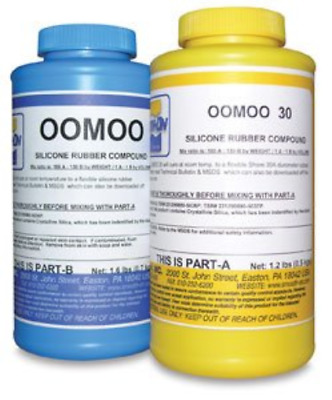 Smooth-On Silicone Mold Making Liquid Rubber OOMOO 30 Easy to Use - Trial Siz