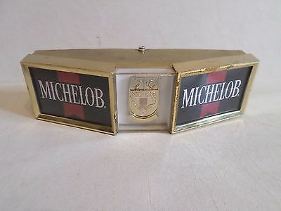 Vintage Michelob Beer Bar Back Sign Man Cave Tavern Steel & Plastic