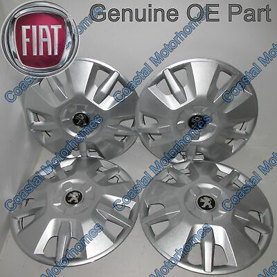 "Peugeot Boxer 15"" Wheel Trim Hub Caps 2006 Onwards OE X4"