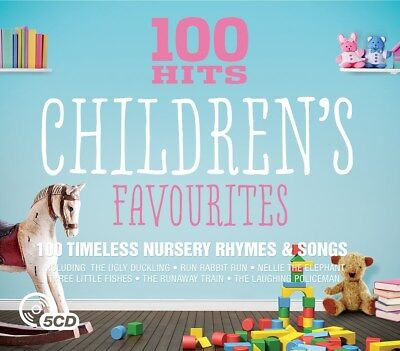 100 Hits: Children's Favourites - Various Artists (Box Set) [CD]