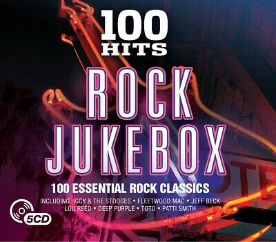 100 Hits: Rock Jukebox - Various Artists (Box Set) [CD]