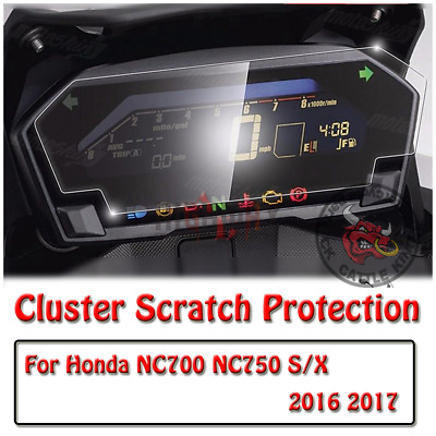 Cluster Scratch Protection Film Screen Protector for HONDA NC700 NC750 S/X
