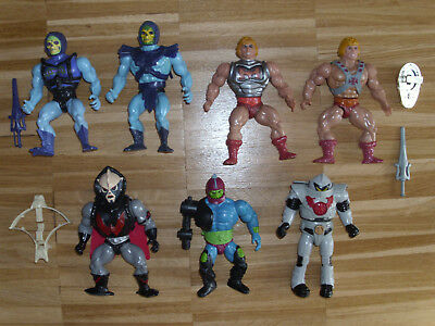 Masters of the Universe Sammlung - Lot - He-Man, Skeletor, Hordak, Horde Trooper