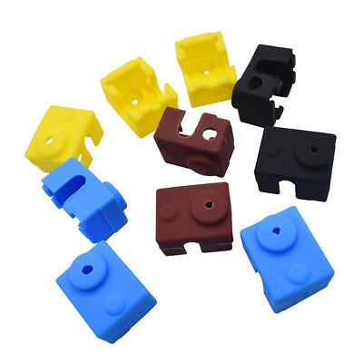 Hot 3D Printer Silicone Sock Heater Block Cover E3D-V6 Hotend Heater Protect Too