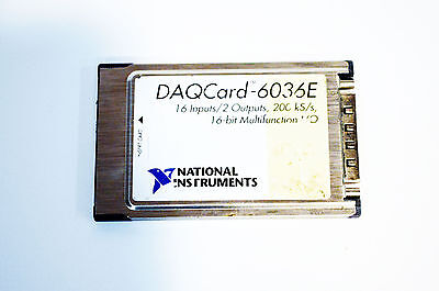 USA Verkäufer National Instruments Ni DAQCARD-6036E 188035C-01