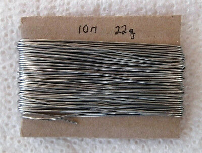Solder 22swg, low residue flux, 60 tin / 40 lead, 10metre length