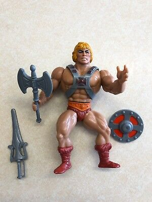 He-Man Action Figure Vintage Masters Of The Universe