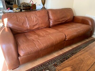4 SEATER LEATHER Sofa , There Is Another Matching One , 4 ...