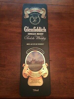 Vintage Glenfiddich Single Malt Scotch Whiskey Commerative Tin Box