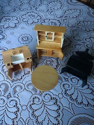 Doll house kitchen furniture