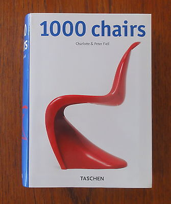 1000 Chairs. Ancienne Edition Année 2000. TASCHEN. Vintage 1000 Chairs Book.