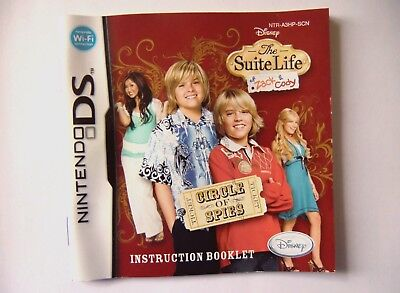 48788 Instruction Booklet - The Suite Life Of Zack & Cody Circle Of Spies -