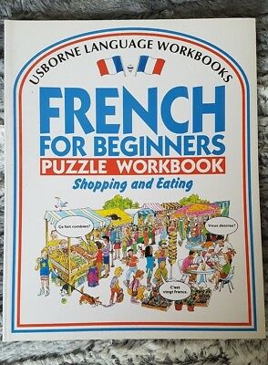 French for Beginners Puzzle Workbook: Shopping and Eating by R. Bladon