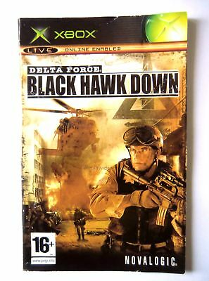 48809 Instruction Booklet - Delta Force Black Hawk Down - Microsoft Xbox (2005)