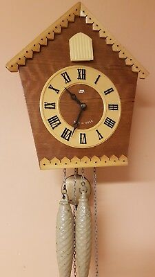 VINTAGE RUSSIAN  CUCKOO CLOCK / Fully  Servised