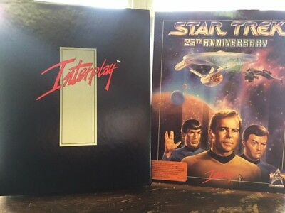25th ANNIVERSARY STAR TREK DISK GAME FOR COMPUTER, USED