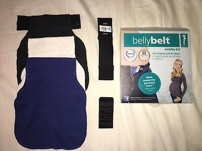 Maternity Belly Belt Combo Kit Cotton Pregnancy Extender - Pant PLUS BRA EXTEND