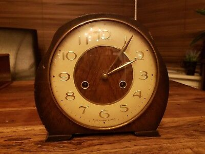SMITHS ENFIELD  Antique Mantel  Clock . spares or repair
