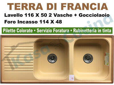 FRANKE LAVELLO IN fragranite ad una vasca con vaschetta e ...