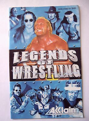 49827 Instruction Booklet - Legends Of Wrestling - Sony Playstation 2 (2001) SLE