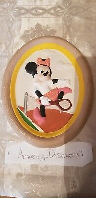 Minnie Mouse Handmade Clay Picture