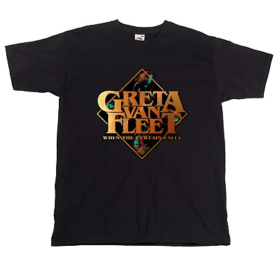 Greta Van Fleet Rock Cool T-Shirt Led Zeppelin Fan Tribute UNISEX