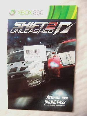 56382 Instruction Booklet - Shift 2 Unleashed - Microsoft Xbox 360 (2007)