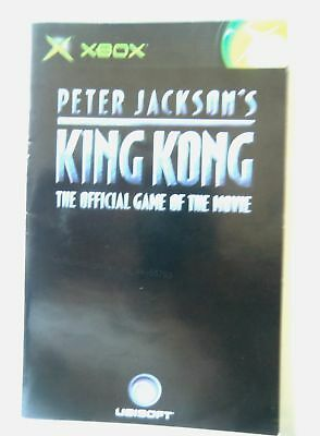 55793 Instruction Booklet - Peter Jackson's King Kong - Microsoft Xbox (200
