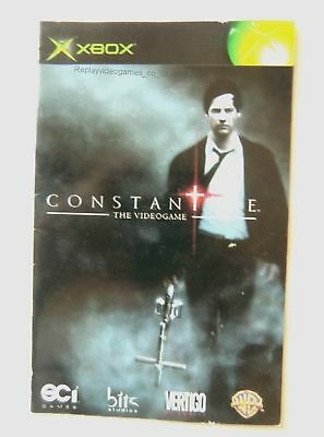 55845 Instruction Booklet - Constantine - Microsoft Xbox (2005)