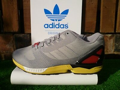 the latest 1931b 17312 ADIDAS ZX FLUX WEAVE 80s casuals 2015 7 8 9 000 RARE COLOURWAY UK8.5
