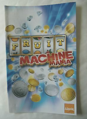 57100 Instruction Booklet - Fruit Machine Mania - Sony Playstation 2 (2006) SLES