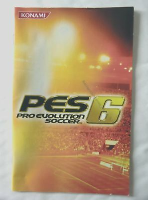 57430 Instruction Booklet - Pro Evolution Soccer 6 - Sony Playstation 2 (2006) S