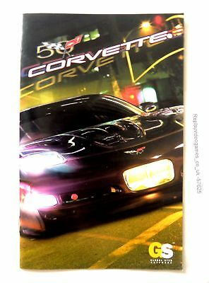 57625 Instruction Booklet - Corvette - Sony Playstation 2 (2004) SLES 52219