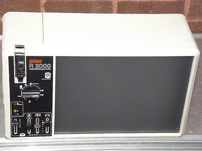 Eumig R 2000 Instaprojection Super 8 and Standard 8 Viewer Projector