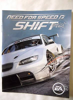 59398 Instruction Booklet - Need For Speed Shift - Sony Playstation 3 (2009) BLE