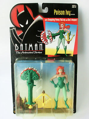 Batman The Animated Series Poison Ivy Actionfigur Mosc Neu Ovp Kenner