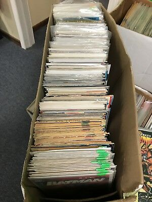 Long Box Misc Comic Books 280 Mixed Lot As Pictured DC Marvel Epic Eclipse Indie