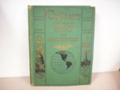 1943 Collier's World Atlas And Gazetteer