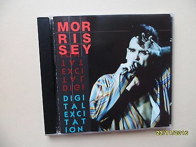 """Morrissey Rare 1992 CD """"Digital Excitation"""" Live at the London HammerSmith Odeon"""